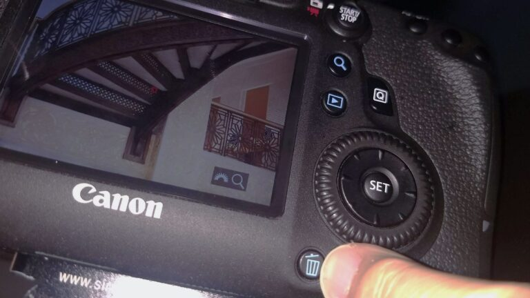 Why deleting images in camera is a bad idea