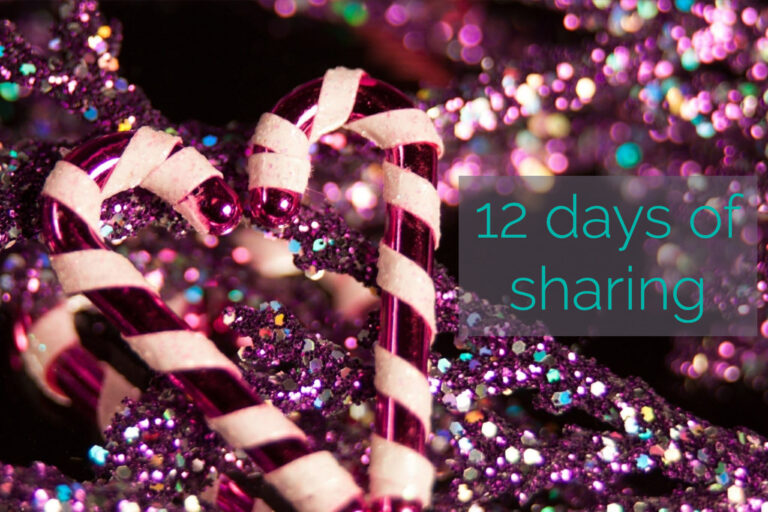 12 Days of Sharing – Day 8
