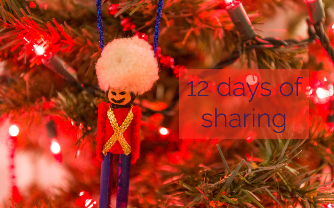 12 Days of Sharing – Day 4