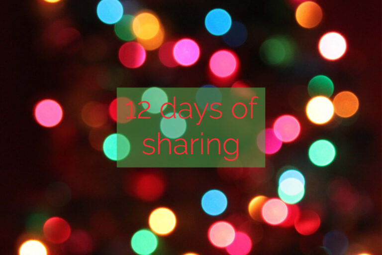 12 Days of Sharing – Day 11