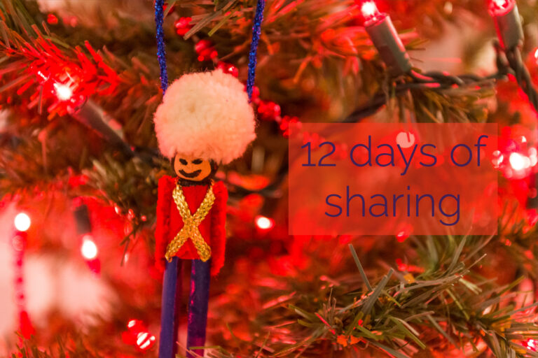 12 Days of Sharing – Day 3