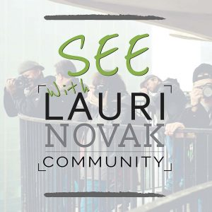 SEE! with Lauri Novak Community Logo
