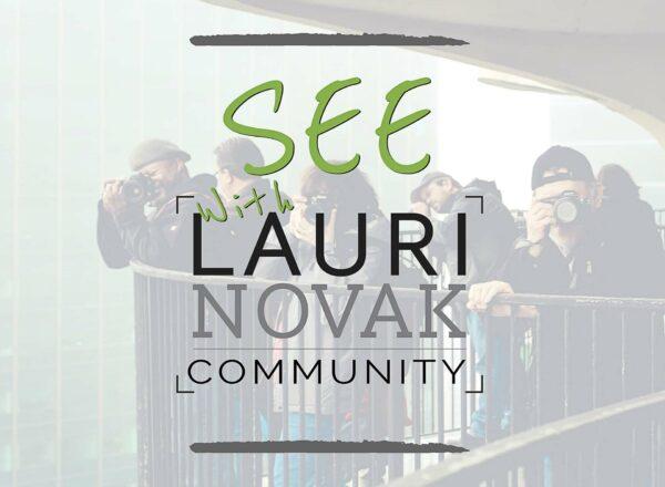 SEE! with Lauri Novak Community Logo