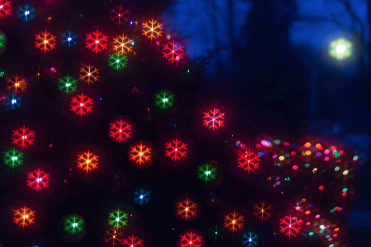 Getting creative with holiday light photos
