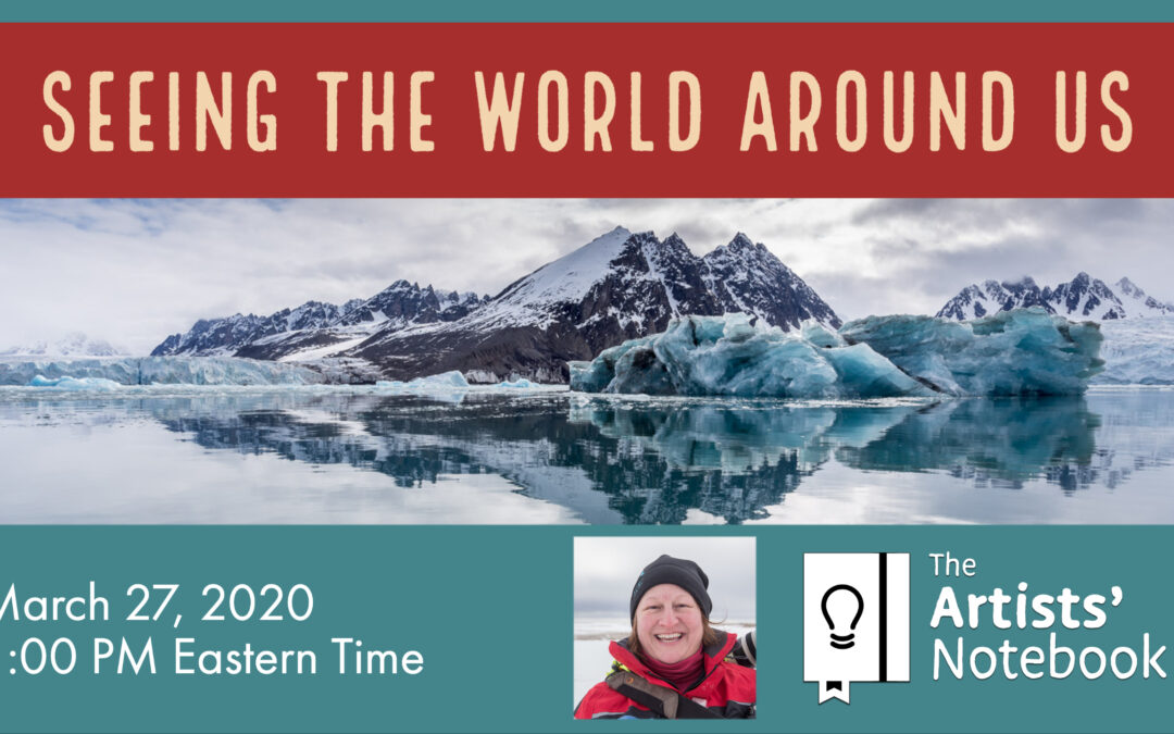 Seeing the world around us – a webinar