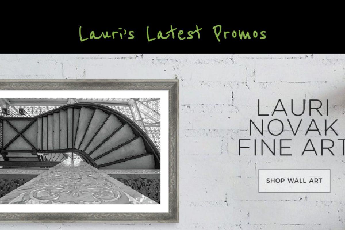 Lauri's Latest Promos – April