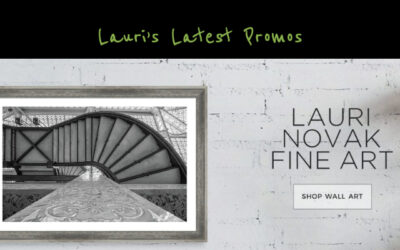 Lauri's Latest Promos – April