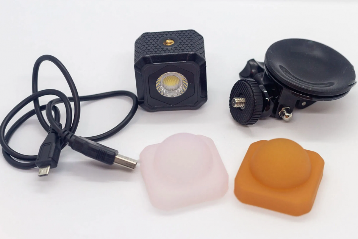 Using the Lume Cube Air VC for video conferencing and product photos